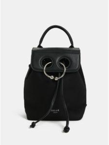 Čierny batoh v semišovej úprave Bessie London