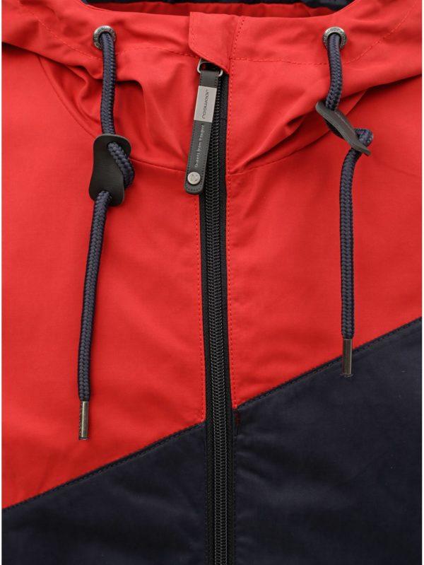 Červeno–modrá pánska bunda Ragwear Nugget
