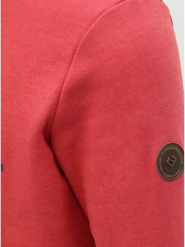 Červená pánska mikina Ragwear Strek