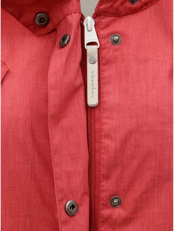 Červená dámska parka Ragwear Cranchy
