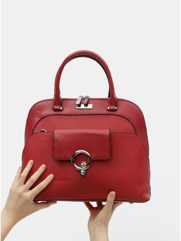Červená kabelka Bessie London