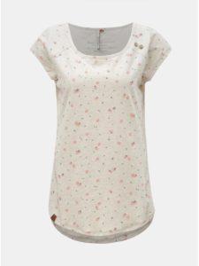 Krémové dámske tričko s motívom Ragwear Rosanna
