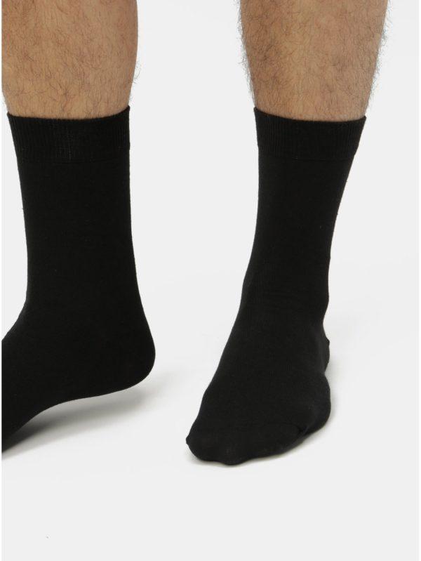 Balenie siedmich párov čiernych ponožiek Burton Menswear London
