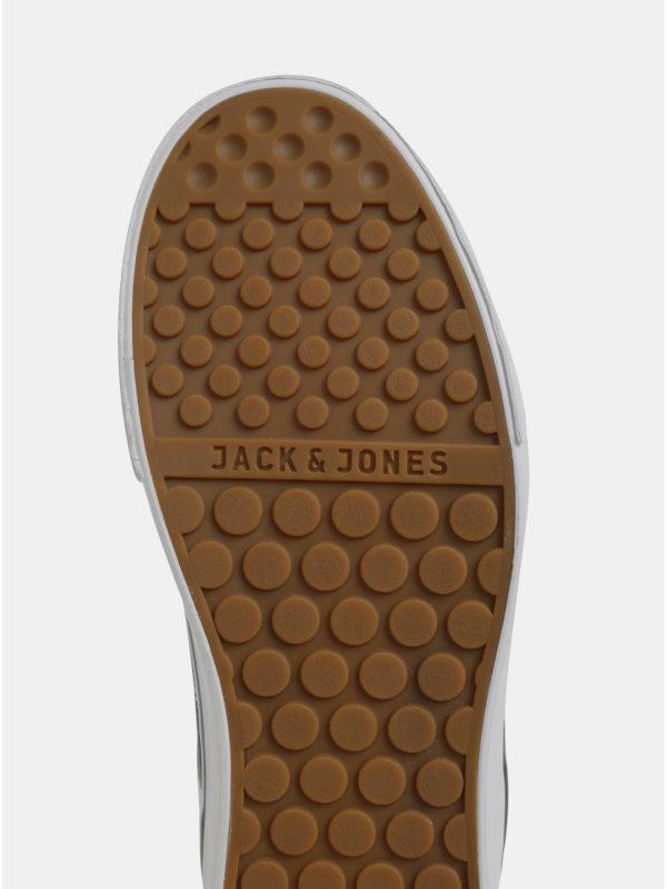 Čierne pánske tenisky Jack & Jones Cali