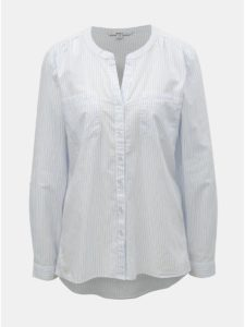 Biela pruhovaná košeľa ONLY Fmint