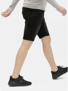 Čierne rifľové kraťasy Burton Menswear London