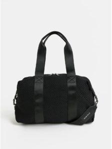 Čierna taška s vreckom na notebook Claudia Canova Zuria