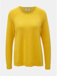 Žltý sveter s rozparkami ONLY New