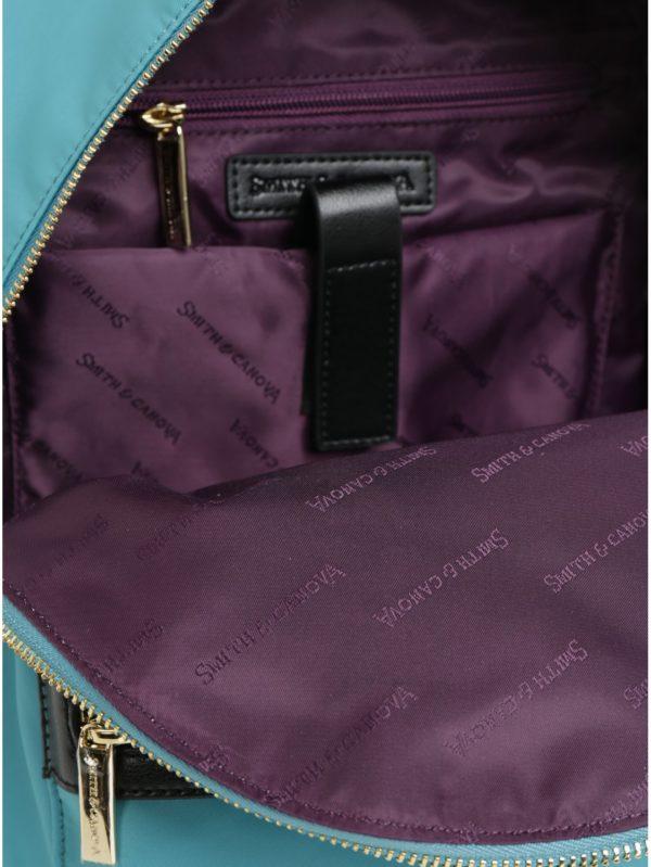 Tyrkysový batoh Smith & Canova Marnie