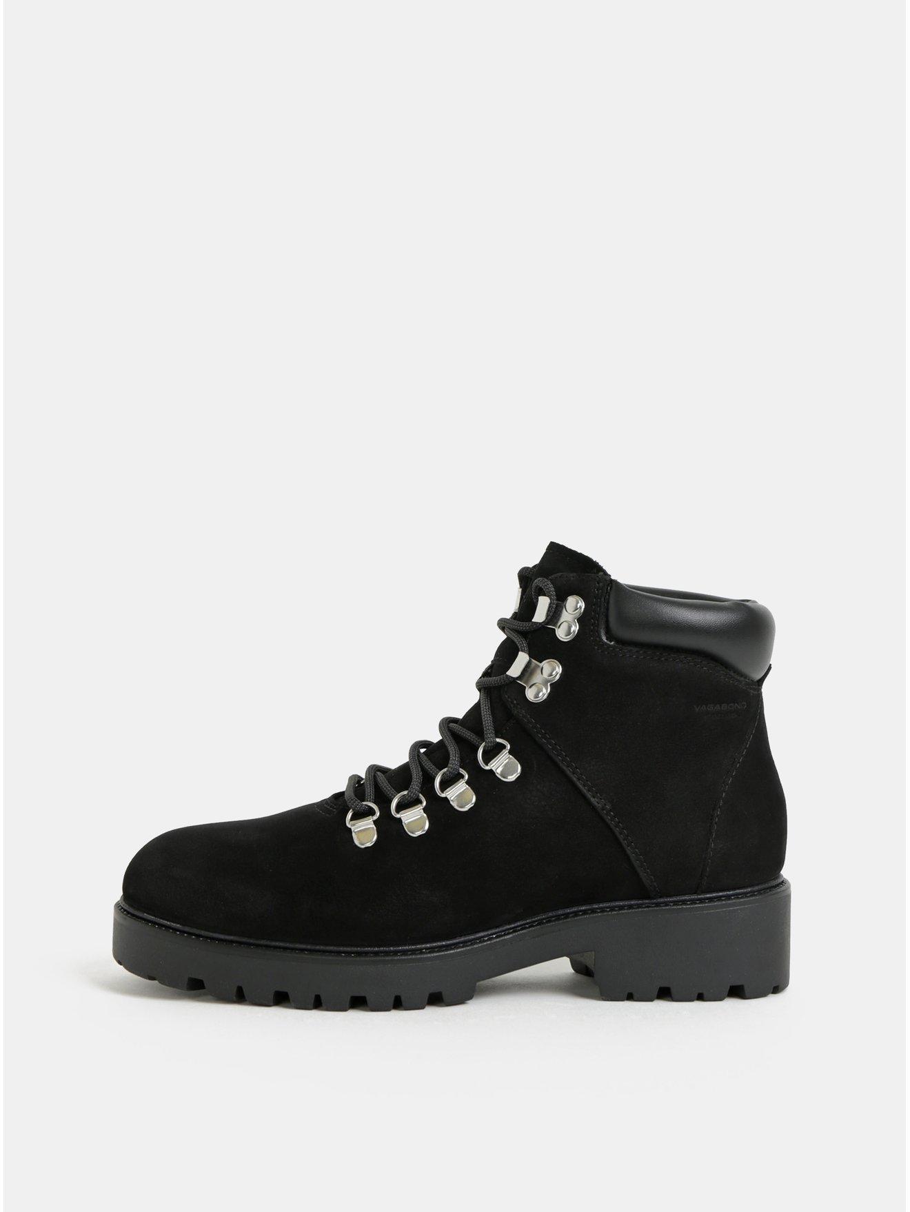 ae0673200 Čierne dámske kožené zimné členkové topánky Vagabond Kenova | Moda.sk