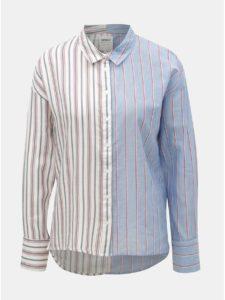 Bielo–modrá pruhovaná košeľa ONLY Harry