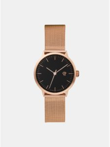 Dámske hodinky s kovovým remienkom v ružovozlatej farbe CHPO Nando mini