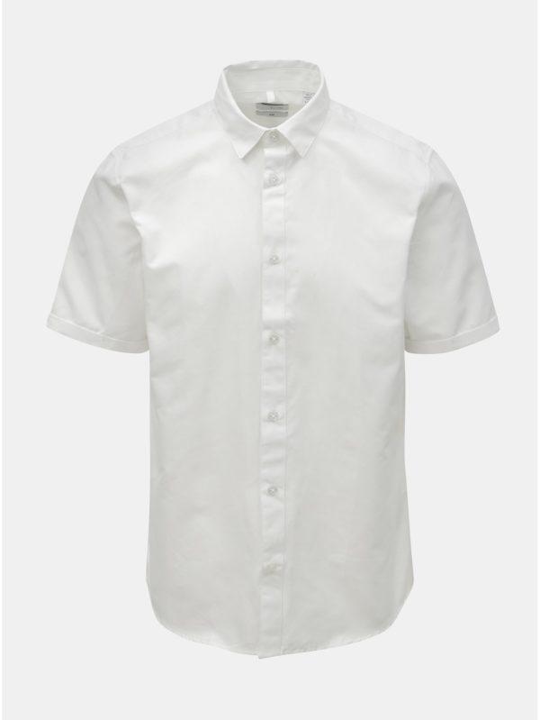 Biela slim fit košeľa ONLY & SONS Travis