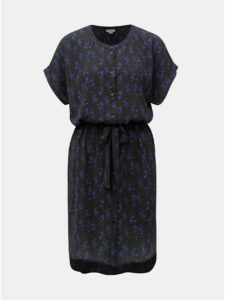 Čierne vzorované šaty Jacqueline de Yong Josephine