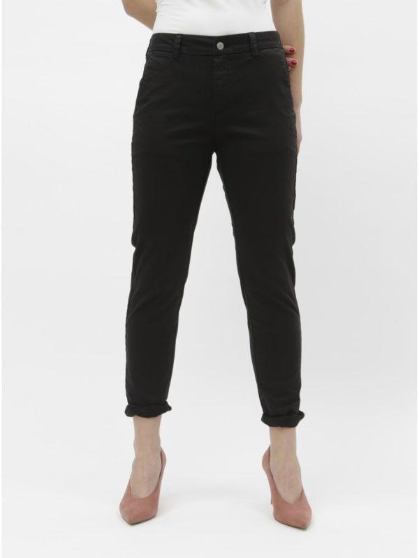 Čierne chino nohavice Selected Femme Megan