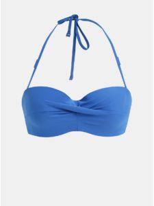 Modrý vrchný diel plaviek Calvin Klein Underwear