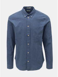 Modrá regular fit košeľa Selected Homme Landon