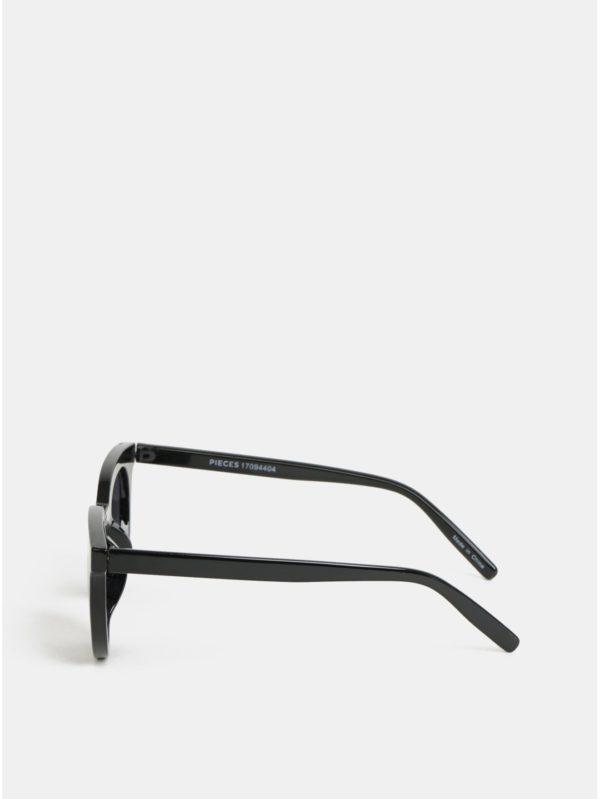 Čierne slnečné okuliare Pieces Bella
