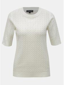 Biely svetrový top Selected Femme Emma