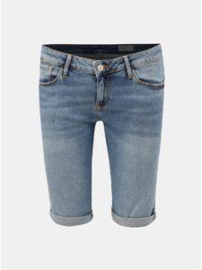 Modré dámske rifľové kraťasy Cross Jeans Amy