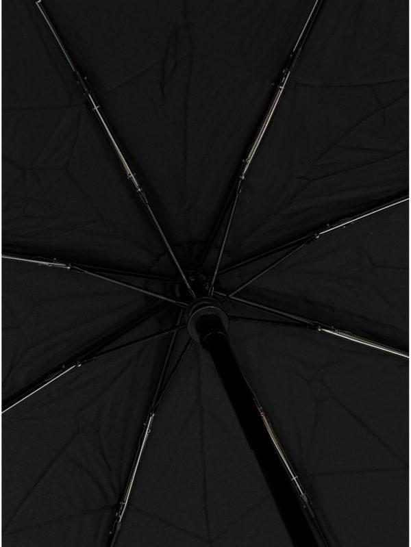 Čierny vystreľovací dáždnik Doppler
