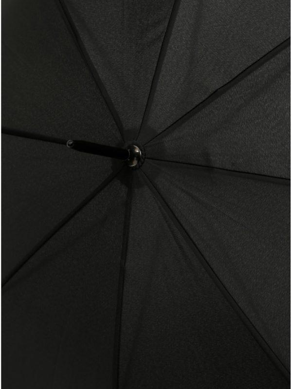 Čierny holový dáždnik Doppler