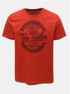 Červené pánske tričko Tom Tailor