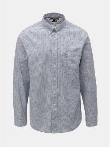 Svetlomodrá vzorovaná regular fit košeľa Tommy Hilfiger