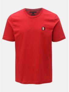 Červené pánske tričko Tommy Hilfiger