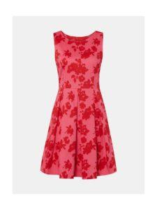 Ružové kvetované šaty Tom Tailor