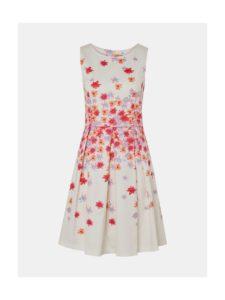 Biele kvetované šaty Tom Tailor