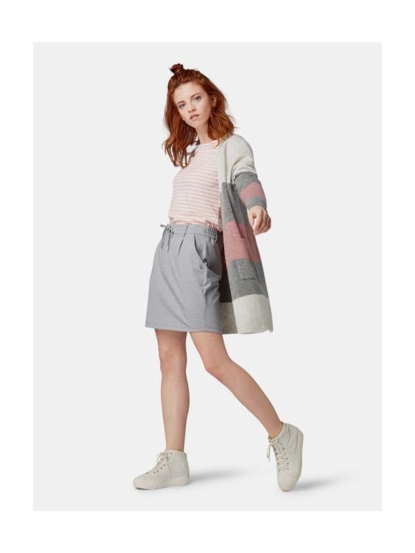 Sivá sukňa Tom Tailor Denim