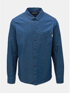 Modrá rifľová košeľa s vreckom Blend