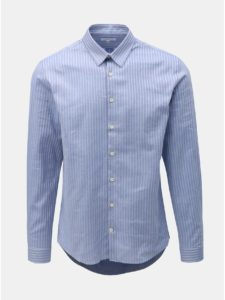 Modrá pruhovaná košeľa Lindbergh