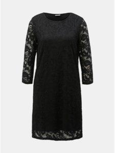 Čierne čipkované šaty Jacqueline de Yong Crystal