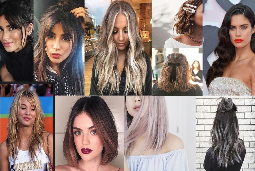 Ukážka vlasových trendov v strihaní, farbení a stylingu