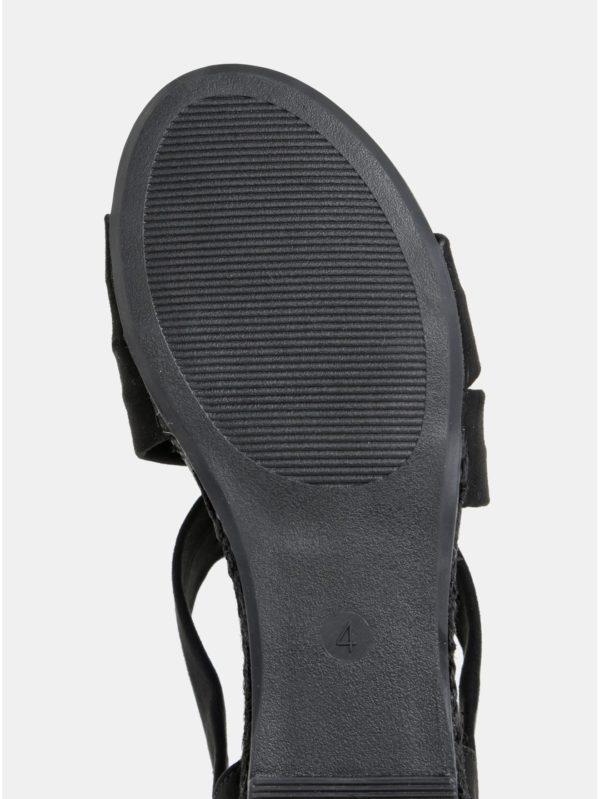 d4d9ae4ae0cb Čierne sandále v semišovej úprave Dorothy Perkins