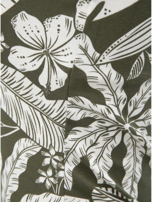 Kaki kvetované tielko Dorothy Perkins