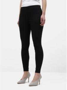 Čierne skinny nohavice Dorothy Perkins