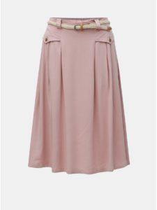 Ružová sukňa Ragwear Zeika