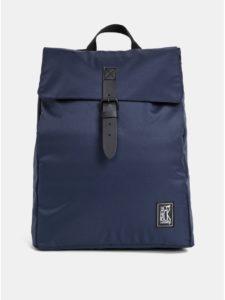 Tmavomodrý nepremokavý batoh The Pack Society 15 l