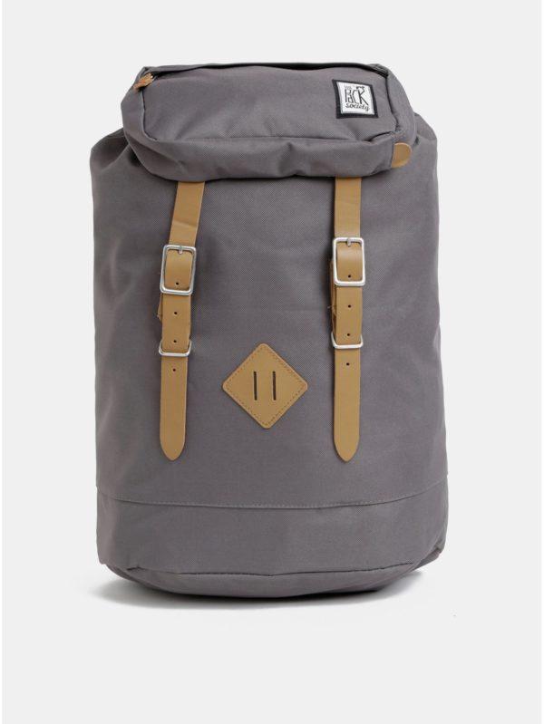 Sivý nepremokavý batoh The Pack Society 23 l