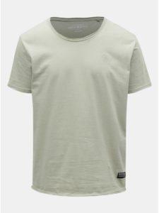 Svetlozelené melírované tričko Shine Original