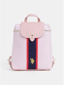 Ružový dámsky batoh U.S. Polo Assn.