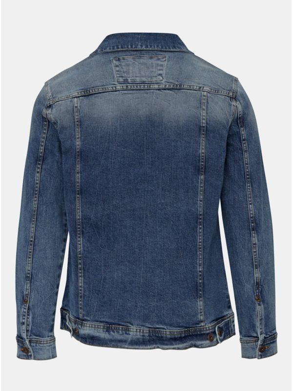 Modrá rifľová bunda Shine Original