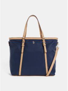 Tmavomodrá kabelka U.S. Polo Assn.