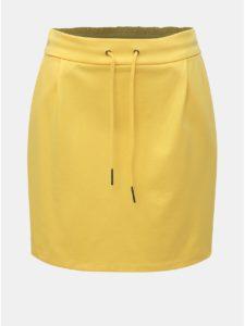 Žltá minisukňa VERO MODA Eva