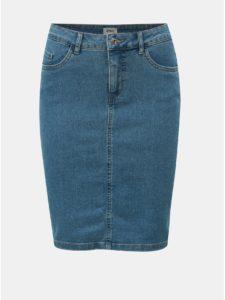 Modrá rifľová sukňa ONLY Kiss