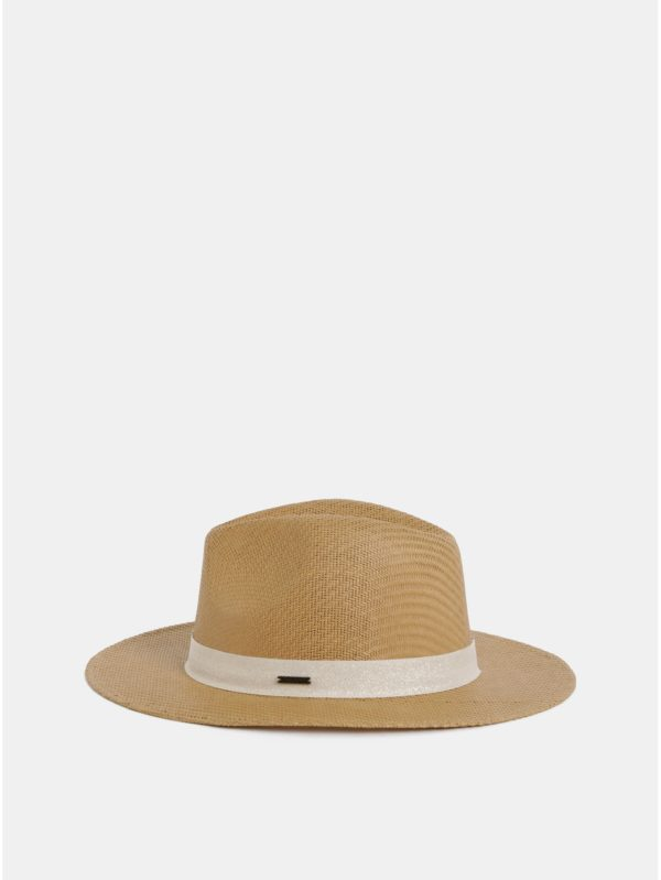 Béžový klobúk Roxy Here