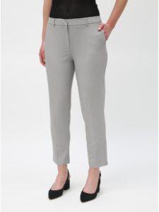 Svetlosivé skrátené nohavice Dorothy Perkins